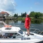 Nowa łódź elbląskich wodniaków