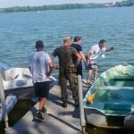 Poszukiwania niemieckiego bombowca w Jeziorze Ełckim