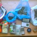 Marihuana w reklamówkach, amfetamina w słoikach