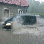 Ostrzeżenie. Silne deszcze na Warmii i Mazurach