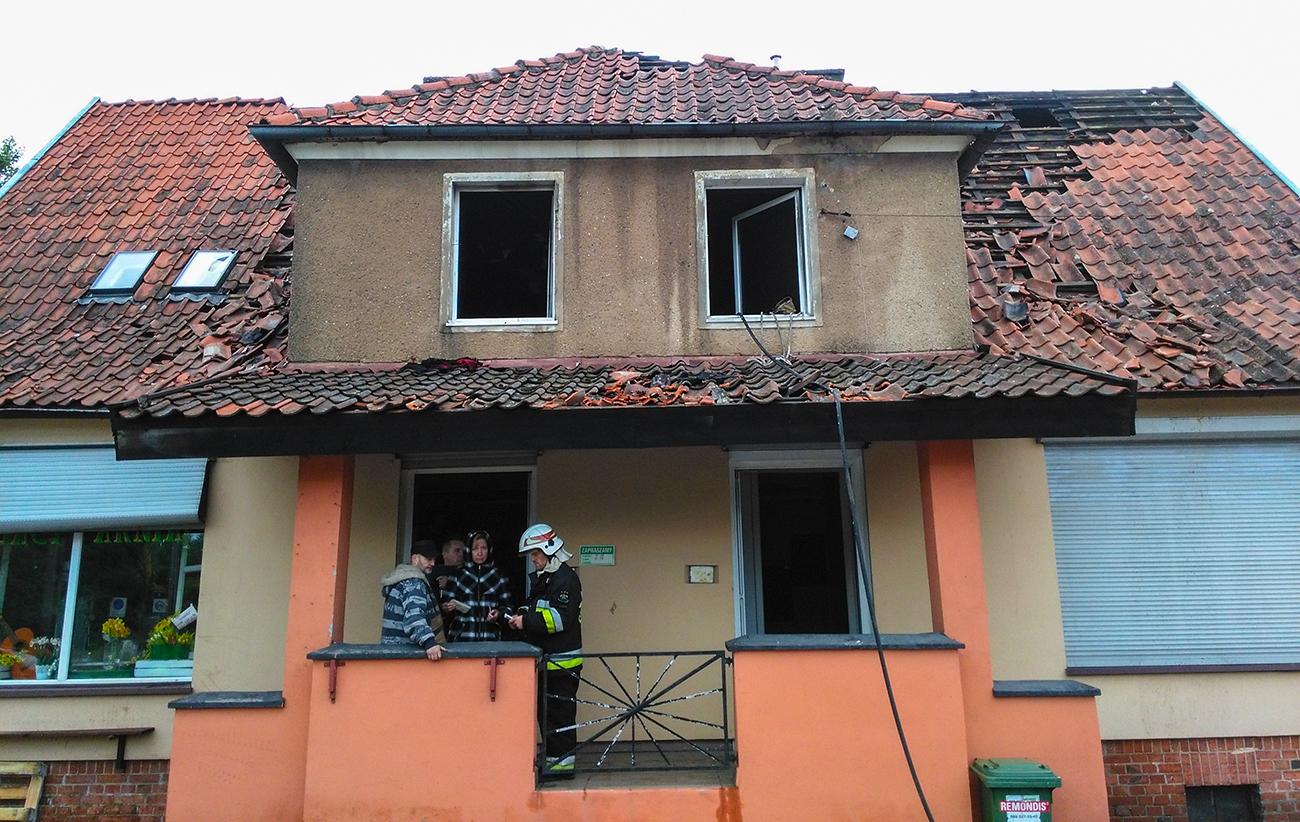 Zaprószenie Ognia Przyczyną Tragicznego Pożaru W Gutkowie Radio
