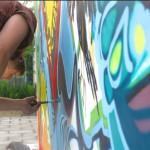 Olsztyńskie mury w rękach ulicznych artystów