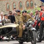 Zabytkowe motocykle rajdują po Warmii i Mazurach