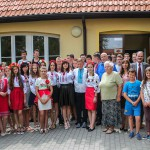 Młodzi Ukraińcy na wakacjach w podolsztyńskich Dywitach