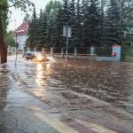 Deszcz pada, a poziom wód tylko nieznacznie się podniósł