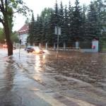 Powalone drzewa, zalane budynki, zerwane dachy – to skutki nawałnicy
