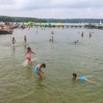 Całe jezioro Ukiel wolne od sinic