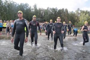 Zawody triathlonowe