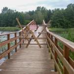 Garbaty most w Wydminach w każdej chwili może się zawalić