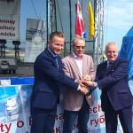 W Tolkmicku ruszyły Regaty o Puchar Trzech Marszałków