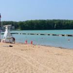 Sinice zaatakowały 3 z 4 kąpielisk nad jeziorem Ukiel