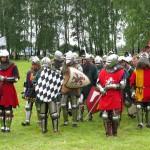 Pod Grunwaldem odbyły się uroczystości w 607. rocznicę bitwy. W inscenizacji wzięło udział ponad tysiąc rycerzy