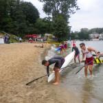 Najlepsi kajakarze rywalizowali na jeziorze Ukiel