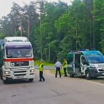 Nieuczciwi kierowcy tirów na celowniku inspektorów drogowych