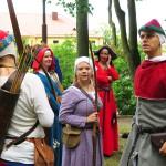 Białogłowy, rycerze i kucharze opanowali Nidzicę
