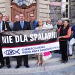 """""""Solidarność"""" zbiera podpisy pod petycją przeciwko spalarni śmieci w Olsztynie"""