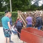 Pielgrzymi z Rosji pracowali w ośrodku Monar-Markot w Ełku