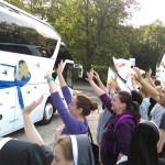 Pielgrzymi ŚDM już wyjechali do Krakowa