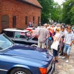 Kultowe auta na olsztyńskiej Starówce