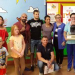 Mistrzyni świata z darami dla dzieci z oddziału onkologicznego