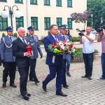 Policjanci z Warmii i Mazur świętowali w Szczytnie
