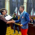 Radni Olsztyna uhonorowali olimpijczyków i paraolimpijczyków