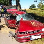 Pijany kierowca subaru spowodował śmiertelny wypadek