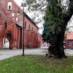 Trwa remont najbardziej zniszczonej części murów zamku krzyżackiego w Pasłęku