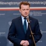 Minister Błaszczak po wydarzeniach w Ełku: Polska jest bezpieczna