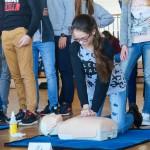 Mieszkańcy Olsztyna uczą się udzielania pierwszej pomocy