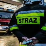 Pożar mieszkania w Elblągu. 4 osoby bez dachu nad głową