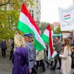 To była największa manifestacja przeciwko sowieckiej agresji na Węgry. Olsztynianie upamiętniają wydarzenia z 1956 roku