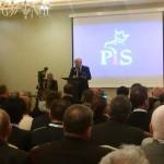 Prezes PiS spotkał się w Olsztynie z działaczami partii