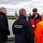 Poziom jeziora Druzno nieznacznie przekracza poziom ostrzegawczy