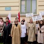 """Olsztyn świętuje rocznicę manifestacji solidarności z Węgrami. """"Plac Armii Czerwonej zamieniono na Plac Powstańców Węgierskich"""""""