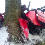 Ranni w wypadku na krajowej 16 między Mikołajkami i Orzyszem