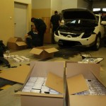 Celnicy w Gronowie zatrzymali rekordową kontrabandę