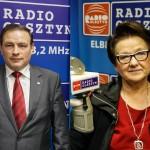 Emocjonalny spór Haliny Ciunel i Dariusza Rudnika o quorum
