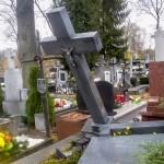 30-latek zatrzymany w związku z dewastacją cmentarza w Ełku