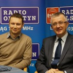 Krzysztof Suchowiecki i Mirosław Gornowicz komentowali sprawę zleceń dla spółki syna prezydenta Olsztyna