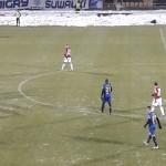 I liga: zima zaskoczyła piłkarzy Stomilu