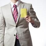 Pierwsi urzędnicy dostali żółte kartki