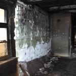 Spłonął  dom jednorodzinny  w Rychnowie pod Ostródą