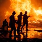 4 miliony złotych strat po pożarze stolarni pod Kętrzynem