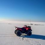 Zalew Wiślany stał się największym lodowiskiem  w Polsce