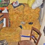 Policja rozbiła domową fabrykę tytoniu