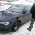 Audi A5 Coupe odzyskane przez Straż Graniczną
