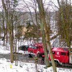 Przypadkowi kierowcy zaalarmowali strażaków o pożarze domu w Mrągowie