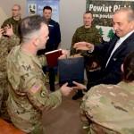Wizyta amerykańskich żołnierzy w Piszu