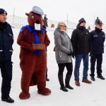 Policjanci na nartach pilnują bezpieczeństwa na stokach